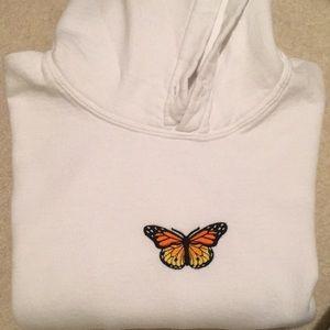 Brandy Melville butterfly hoodie